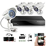 Funlux 8CH Surveillance Security Camera System QR Code Quick...