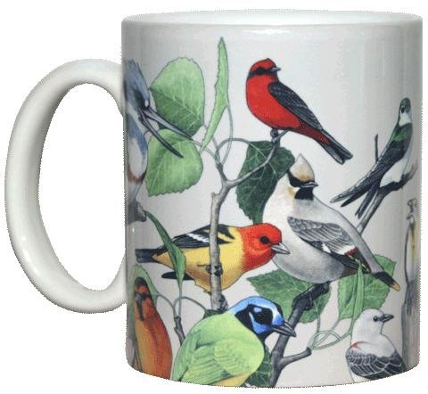 Wild Bird Coffee Mug With Back Country Birds