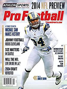 2014 Athlon Sports NFL Pro Football Magazine Preview- St. Louis Rams Cover
