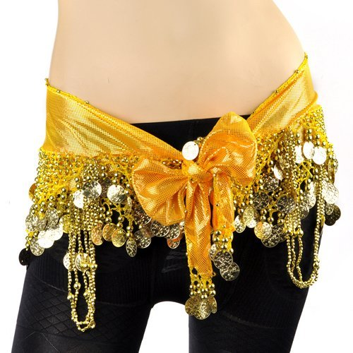 BellyLady Belly Dance Sparkling Tribal Harem Pants, Egyptian Costume Pants