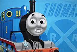 Thomas The Tank Engine and Friends All Aboard (Pillowcase Only) Size STANDARD Boys Girls Kids Bedding