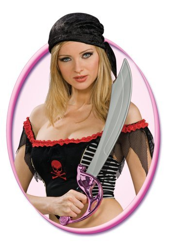 Rubie's Costume Co Pink Pirate Cutlass Costume - 1