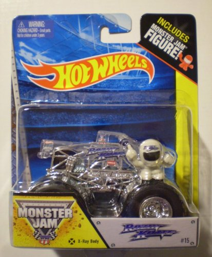 Details for 2014 Look Hot Wheels 1:64 Scale Razin Kane X-ray Body Monster Jam Truck