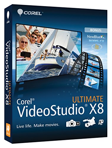 Corel VideoStudio Ultimate X8 (Old Version) (Corel Video Studio Ultimate compare prices)