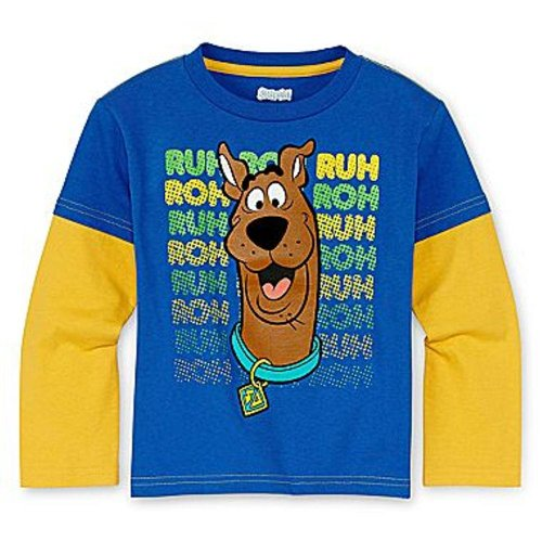 "Scooby Doo Toddler Boys 2T-5T ""Ruh Roh"" Tee 3T back-172821"