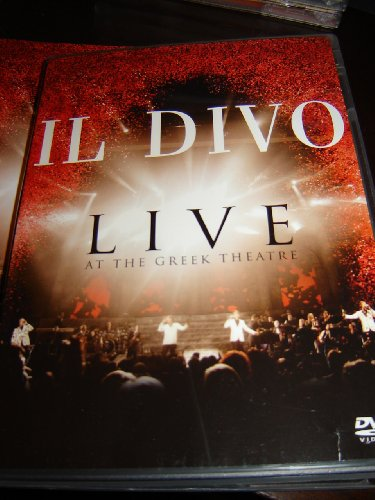 Il divo live at the greek dvd covers for Il divo mp3 download