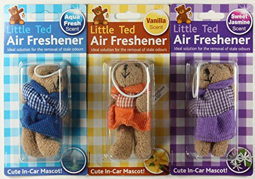 1-x-teddy-bear-car-air-freshener-aqua-fresh-vanilla-or-sweet-jasmine