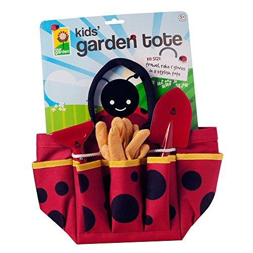 Toysmith Ladybug Garden Tote - 1