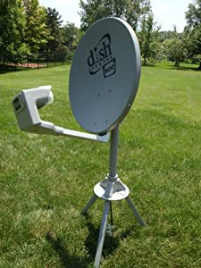 Dish Network DISH500 Portable Satellite Kit for Campers and RV's