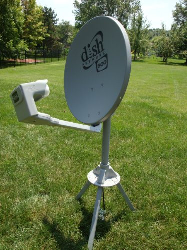 Review Dish Network DISH500 Portable Satellite Kit for Campers and RV's