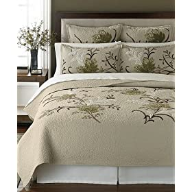 Martha Stewart Autumn Maple 300T Full/Queen Quilt