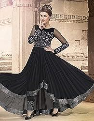 Mega Wholesale Bazaar Womens Semi-Stitched Salwar Suit Dress Material (Swagat-Violetv8-4507)