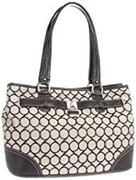 Nine West 9s Jacquard Shopper Satchel Handbag