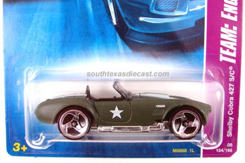 2008 Hot Wheels Team: Engine Revealers - Shelby Cobra 427 S/C