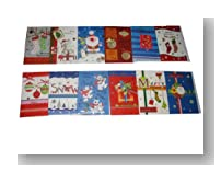 25-Pack Assorted Handmade Christmas Greeting Cards