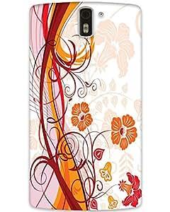 MobileGabbar One Plus 1 Back Cover Designer Hard Case