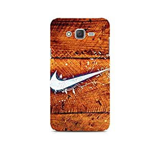 TAZindia Printed Hard Back Case Cover For Samsung Galaxy J1