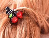 Blingys Cherry Style Hair Clip/Hair Band/Hairpin/Barrette With Blingys Bag