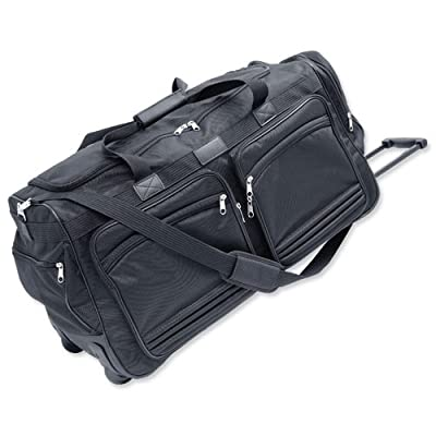 Masters Polyester Wheeled Duffel Bag by Masters London