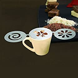 FatLady Stainless Steel Cappuccino Stencils,