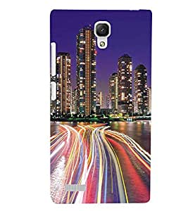 XIAOMI REDMINOTE BUILDINGS Designer Back Cover Case By PRINTSWAG