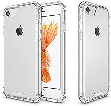 iPhone 7 Funda (4.7 Inch), PEMOTech® Cubierta Trasera dura de PC de Protección con Shock- Absorción de Choques Resistentes a los Arañazos Reforzada la Protección de la Esquina Bumper Case para iPhone 7 4.7