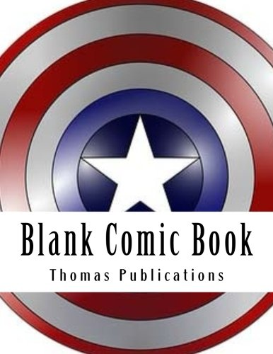 Blank Comic Book Big Start Big End Comic Pages [Publications, Thomas] (Tapa Blanda)
