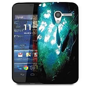 Snoogg Aquarium Fishes Designer Protective Phone Back Case Cover For Moto X / Motorola X
