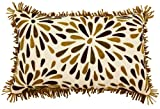 Jovi Home 12-Inch by 20-Inch Topiary Pillow, Natural