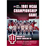 Cover art for  1981 NCAA Championship: Indiana vs. UNC