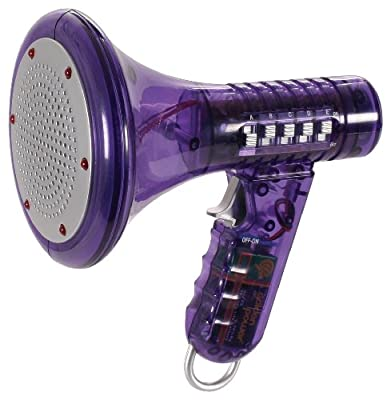 Multi Voice Changer by Toysmith: Change your voice with 8 different voice modifiers (Purple) by Toysmith