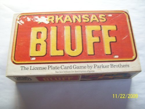 ARKANSAS BLUFF: The License Plate Card Game - 1