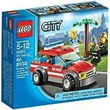 Lego City - 60001 - Jeu de Construction - La Voiture du Chef des Pompiers