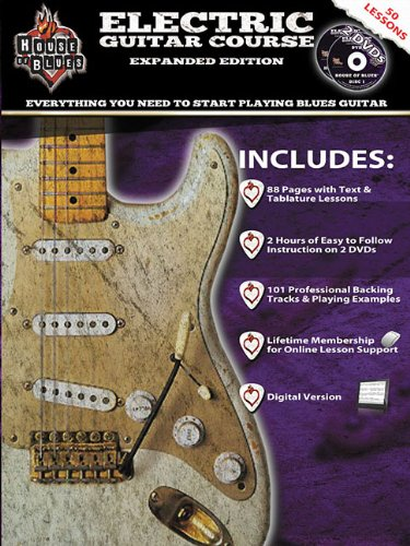 House Of Blues Electric Guitar Course Expanded Edition