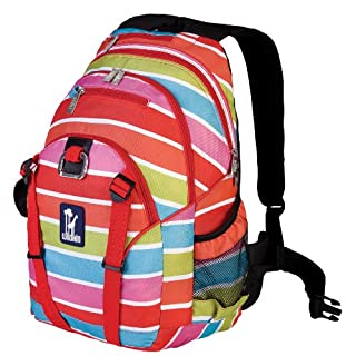 Wildkin Bright Stripes Serious Backpack, One Size