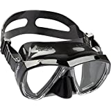 Cressi Big Eyes Wide View Scuba Snorkeling Dive Mask (Italian Made)