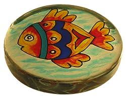 Irshikaa hues Paper Weight fish (8x9x5 cm)