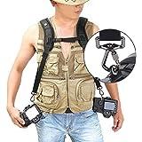Quick Release Camera Strap, IMAGE® Shoulder Neck Sling For Two DSLR SLR Canon Nikon Sony Pentax Panasonic