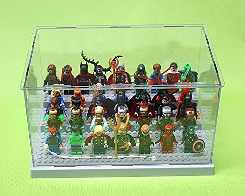 Acrylic Display Box Minifigures Storage Box with Size 261513cm for Super Hero Star Wars Bricks Toys (Pvc Figure Display Case compare prices)