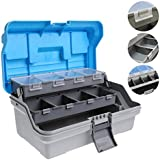 3 Layers Large Fishing Tackle Box Full Bait Storage Case Tools Storage Box