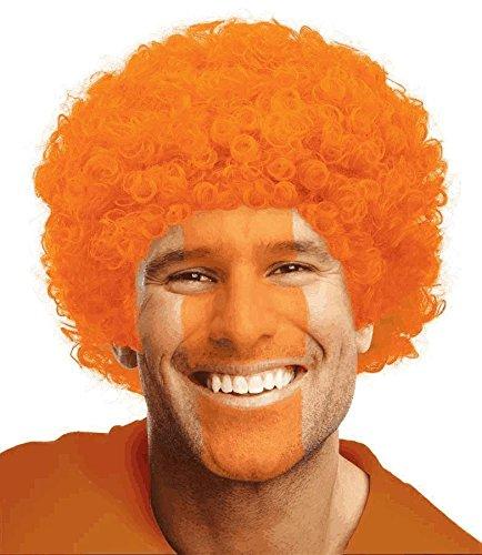 Orange Curly Wigs