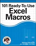 img - for 101 Ready-To-Use Excel Macros book / textbook / text book