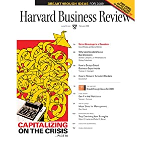 Harvard Business Review, February 2009 Periodical