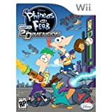 New Disney Interactive Phineas&Ferb Across The 2nd Dimension Platform Multiplayer Support Wii