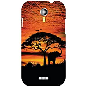 Micromax A117 Canvas Magnus Back Cover - Fly Away Designer Cases