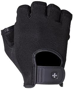 Harbinger 155 Power StretchBack Glove (Black)