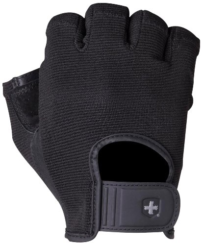 Harbinger Power StretchBack Glove (Black, Large)