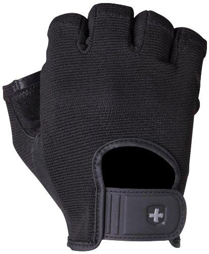 Harbinger Power StretchBack Glove (Black, Large)