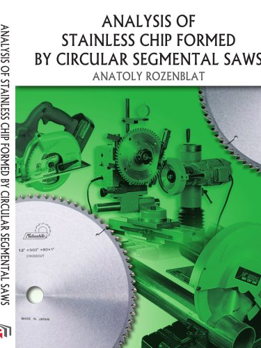 51mCXquLXML ANALYSIS OF STAINLESS CHIP FORMED BY CIRCULAR SEGMENTAL SAWS