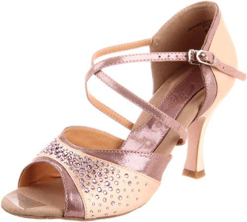 Capezio Women's Crystal Nadia 3 Inch Shoe,Amethyst,8.5 M US
